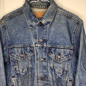 Vtg 90s Levi's Strauss denim jean jacket women's